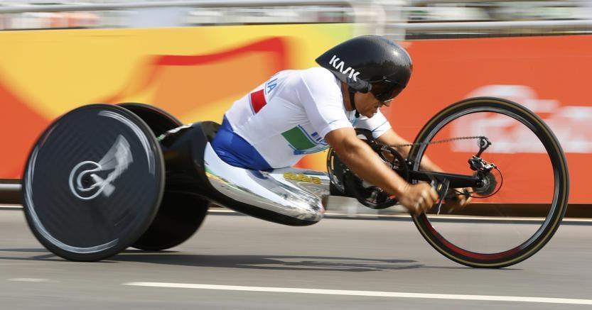 Paralimpiadi, oro a Zanardi nella crono H5 di ciclismo