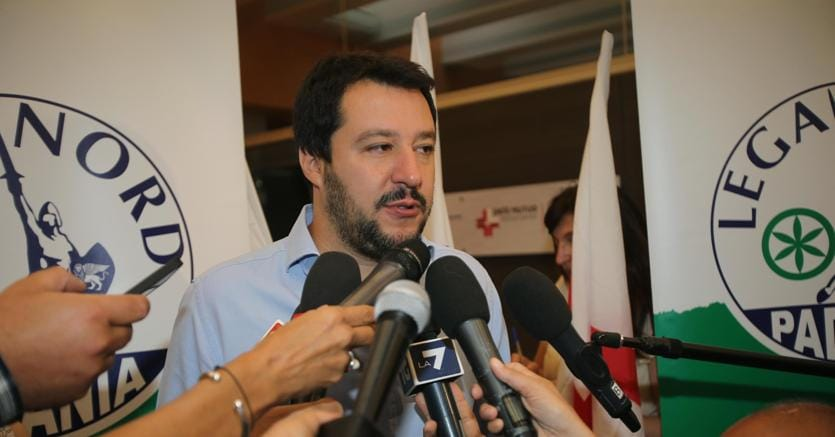 Pontida 2016: l'intervento di Matteo Salvini in diretta streaming