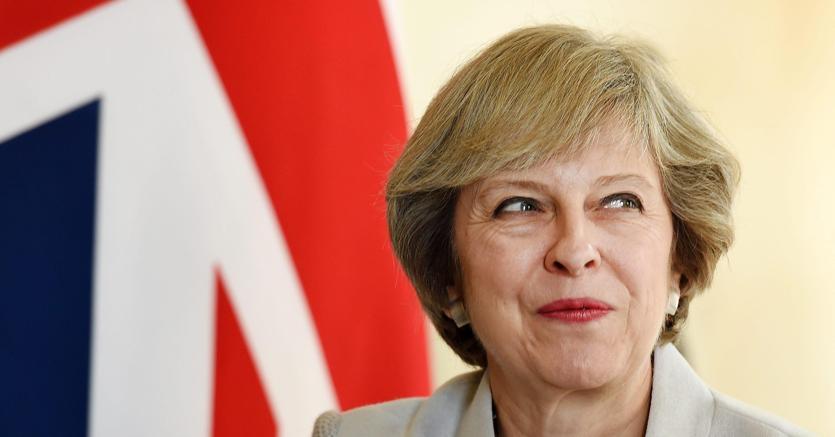 Theresa May, primo ministro britannico (Epa)