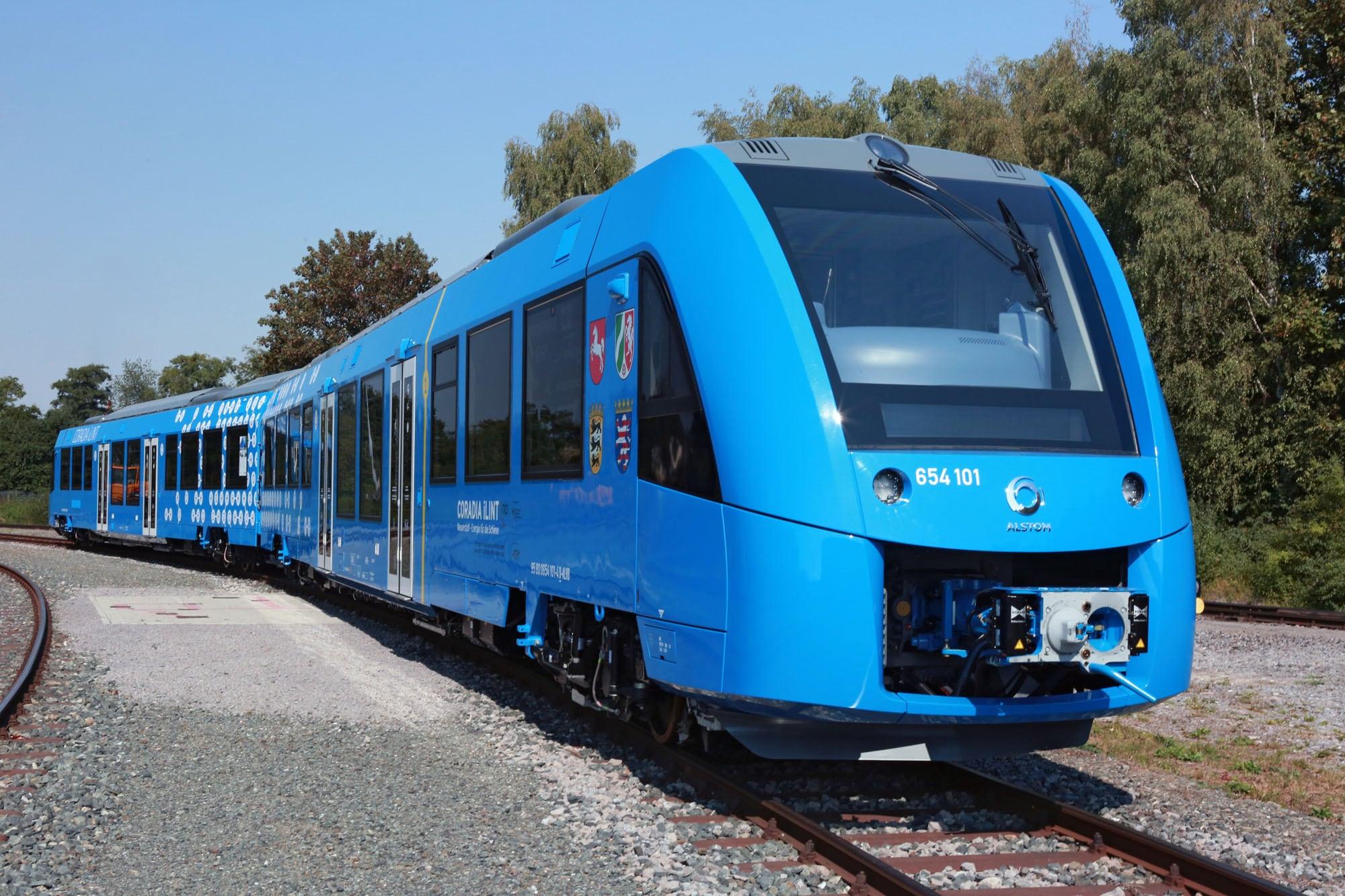 Primo treno regionale a idrogeno in Germania nel 2017