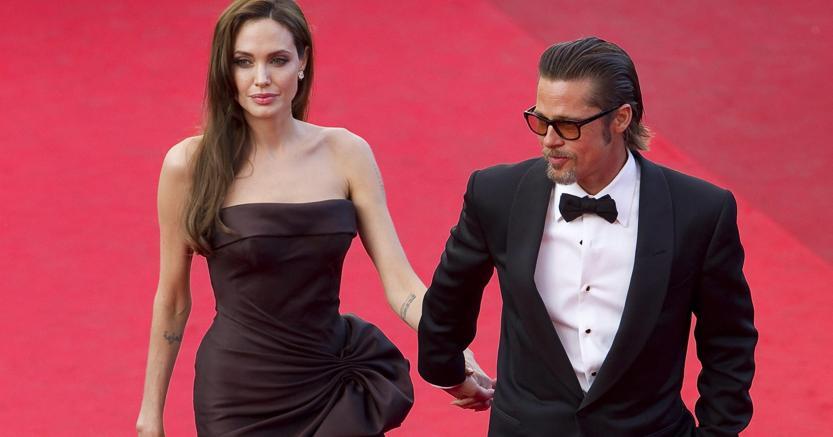Angelina Jolie e Brad Pitt  (Epa)