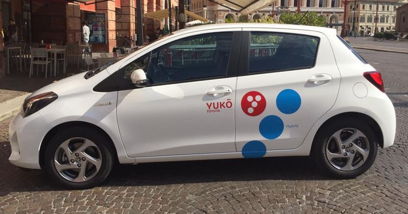 Car sharing, parte da Forlì il primo servizio italiano con auto ibride