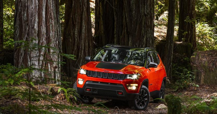 Jeep Compass commercializzata in Brasile