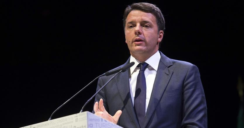 Il presidente del Consiglio, Matteo Renzi (Ansa)