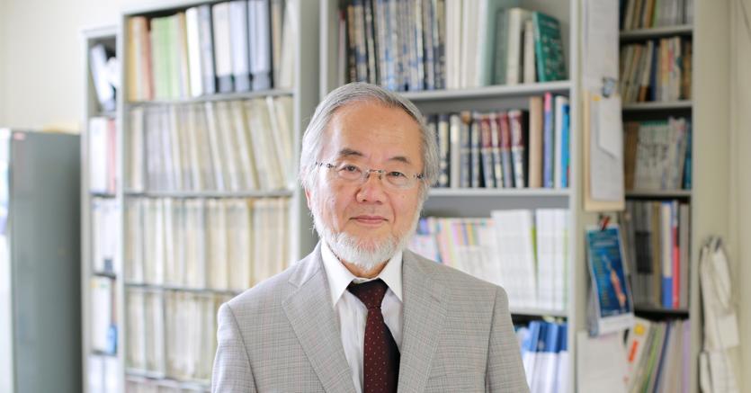 Yoshinori Ohsumi (REUTERS)