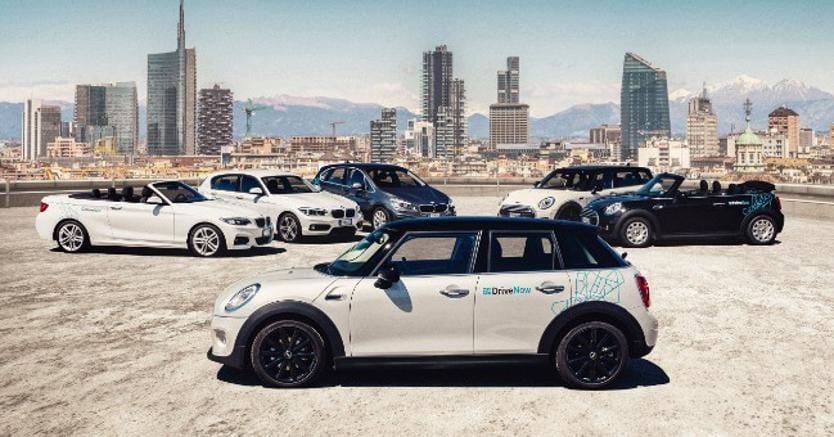 Milano, debutta il 19 ottobre il car sharing premium di Bmw