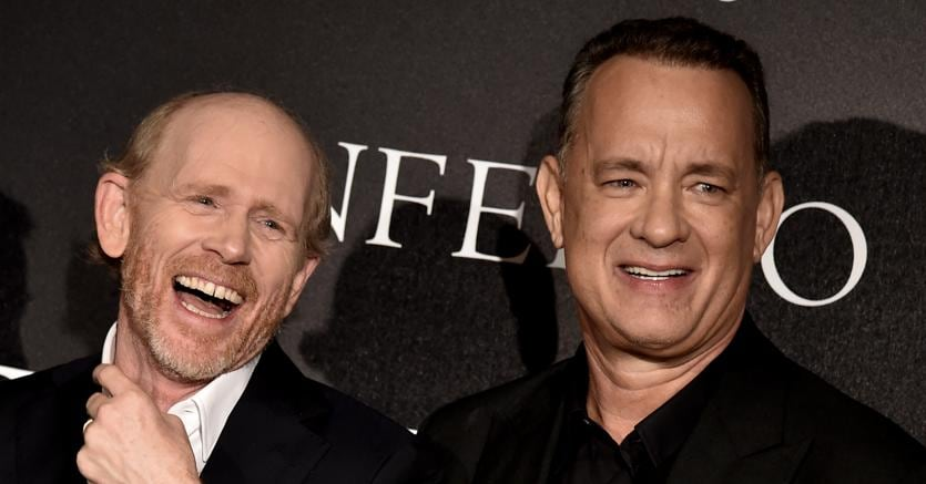 Ron Howard e Tom Hanks