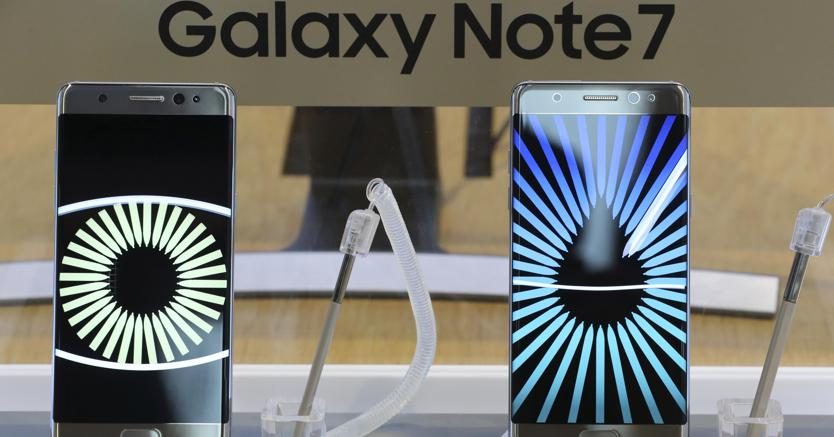 Addio Samsung Galaxy Note 7!