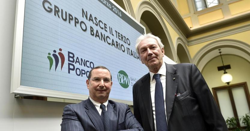 Bpm e Banco Popolare, i soci dicono sí Nasce il terzo polo