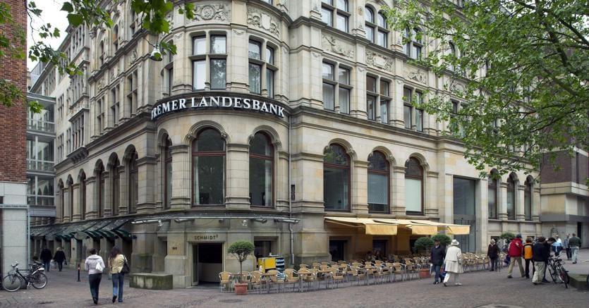 La sede della Bremen Landesbank (Olycom)
