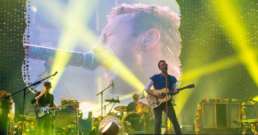 Coldplay in Italia, nuova Data 4 luglio a San Siro: Biglietti