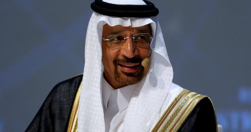 Il ministro dell'Energia   Khalid Al Falih (Reuters)