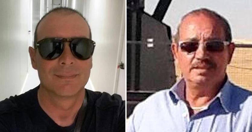 Salvatore Failla e Fausto Piano, due ostaggi uccisi   (Fonte Ansa, immagine Facebook)