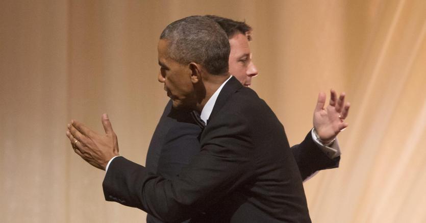 Barack Obama e Matteo Renzi alla  Casa Bianca