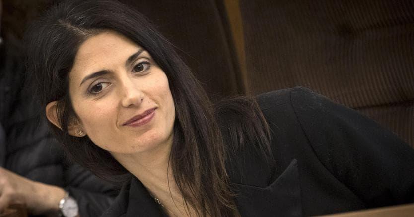 Virginia Raggi a Palazzo Chigi: