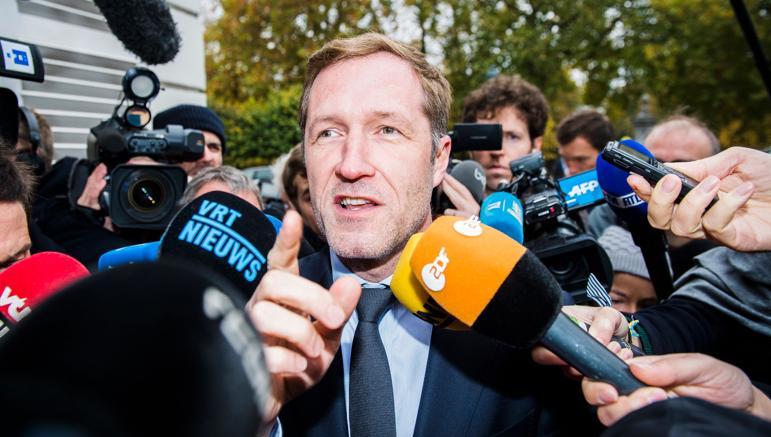 Il presidente della Vallonia Paul Magnette (Afp)