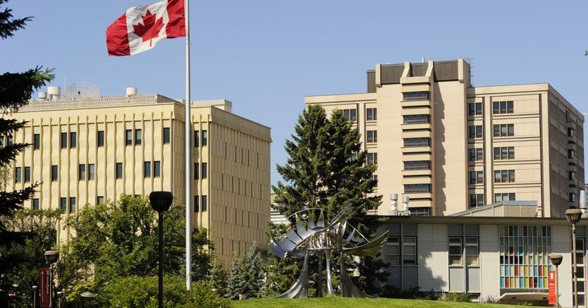 Il campus dell'università di Calgary  (Reuters)