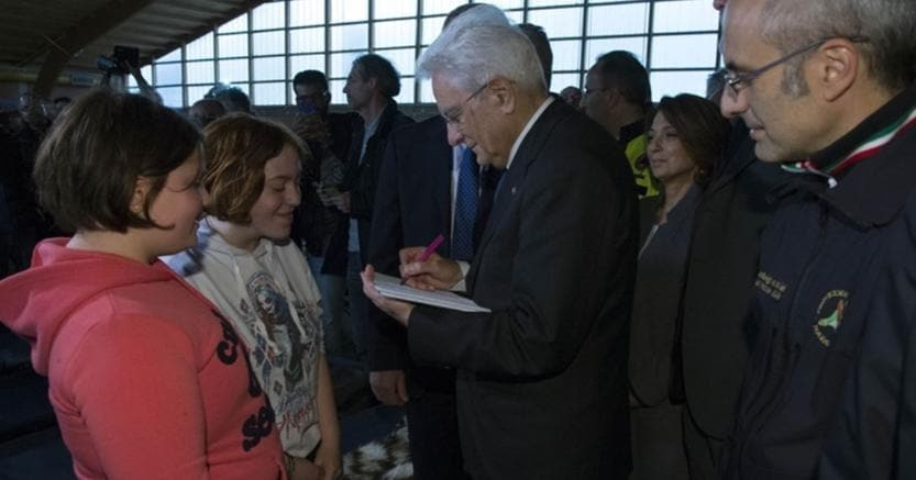 Terremoto: sindaco Camerino, Mattarella ci ha fatto sentire non soli