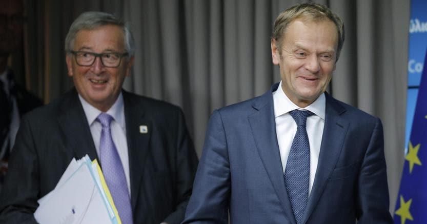 Juncker e Tusk invitano Trump a vertice Usa-Ue.
