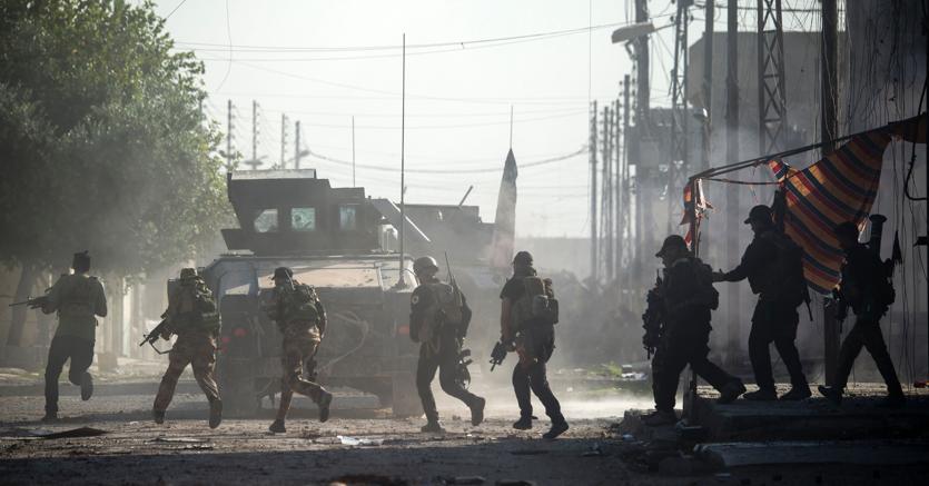 Mosul, l'esercito iracheno riconquista l'antica città di Nimrud