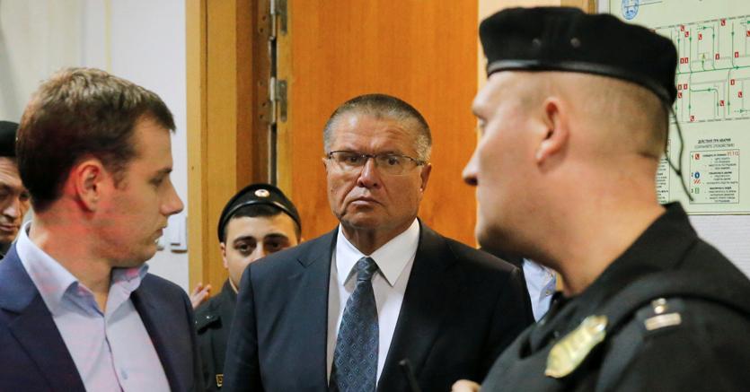 Alexei Ulyukayev, ministro dell'Economia russo arrestato con l'accusa di aver preso una tangente (Afp)