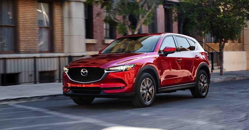 Mazda CX-5 al Salone di Los Angeles 2016 Live