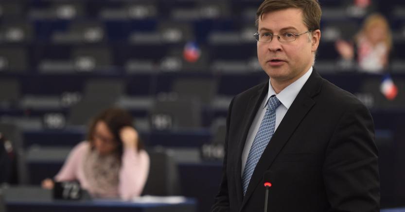 Valdis Dombrovskis (Ansa)