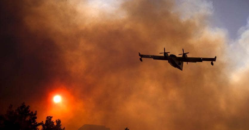 Periferia di Haifa in fiamme
