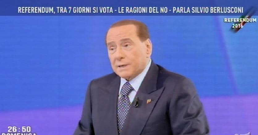 Referendum, duello a distanza in tv tra Renzi e Berlusconi