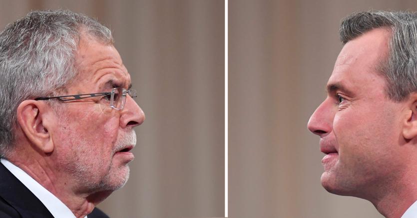 Vander Bellen e Hofer i due candidati presidenziali in Austria