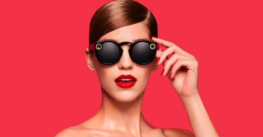 Spectacles, gli occhiali lanciati da Snapchat