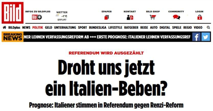 Renzi annuncia le dimissioni dopo la vittoria del No