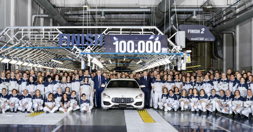 Maserati, la produzione a Grugliasco arriva a 100.000