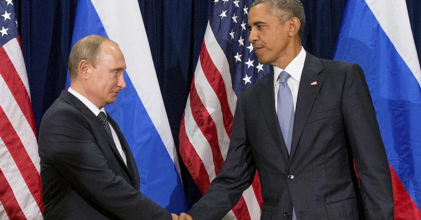 Putin e Obama (Ap)