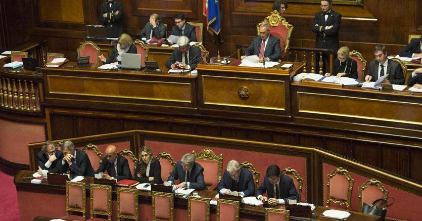 Governo al via seduta senato oggi la fiducia il sole for Discussione al senato oggi