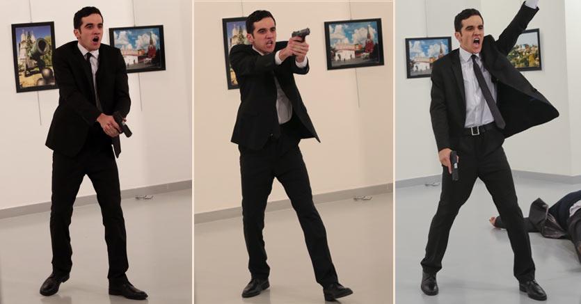 Turchia, ucciso ad Ankara ambasciatore russo Andrey Karlov