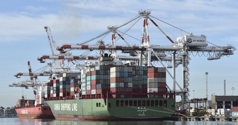 Export extra Ue +3,4 su mese, +5,6% anno