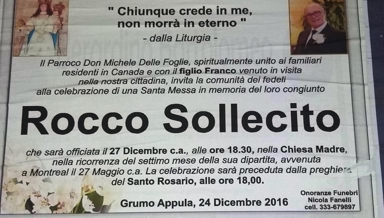 Mafia, a Bari manifesto del parroco per boss ucciso: Unito alla famiglia