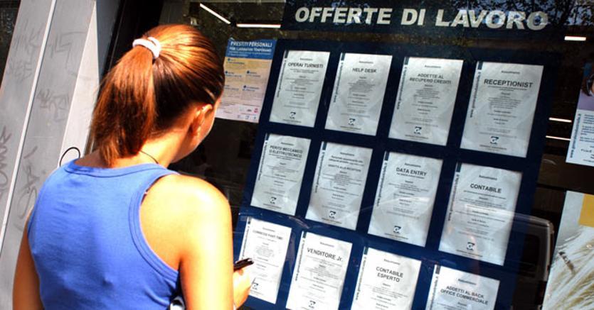 Lavoro, cala l'occupazione per gli under 35