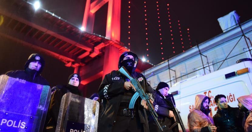 Attacco terroristico al night