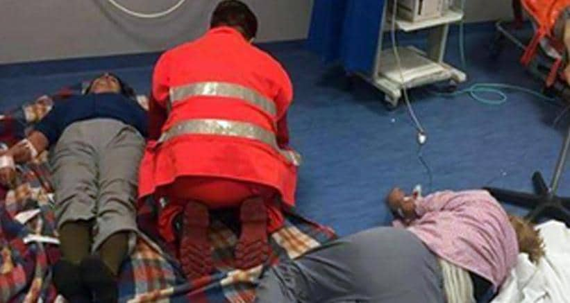 Misteriosa irruzione notturna nell'ospedale di Nola