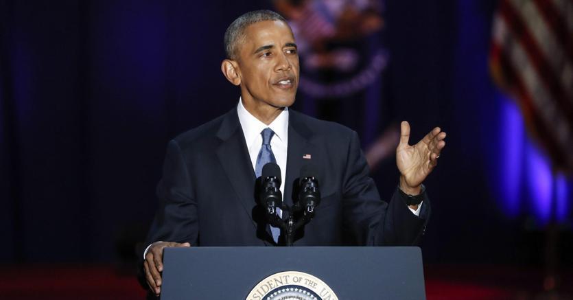 Ultimo discorso di Obama