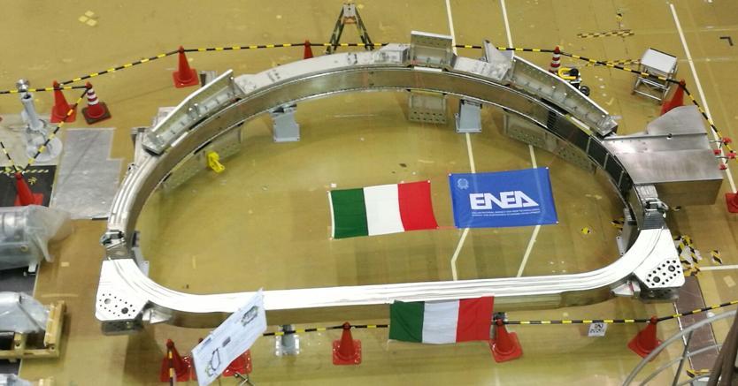 Roberta, la prima bobina italiana consegnata in Giappone
