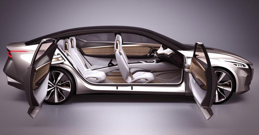 Nissan: debutta a Detroit la Vmotion 2.0