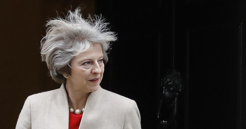 Il primo Ministro britannico, Theresa May (AP Photo)