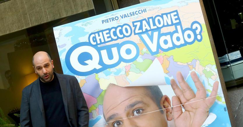 Il cinema italiano soffre Ci salva Checco Zalone