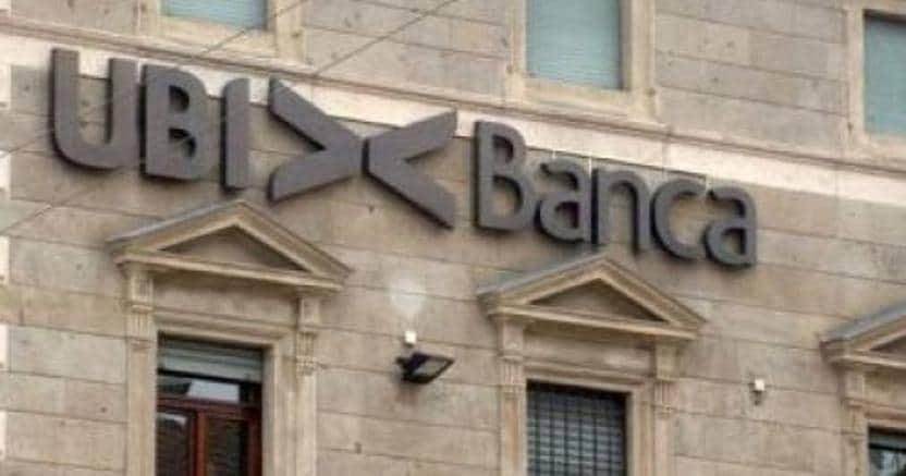UBI Banca in rosso a Piazza Affari