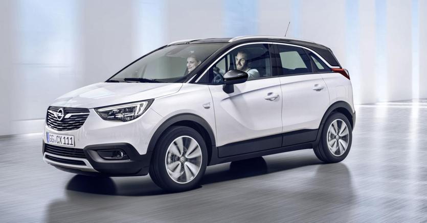Crossland X, il nuovo crossover firmato Opel