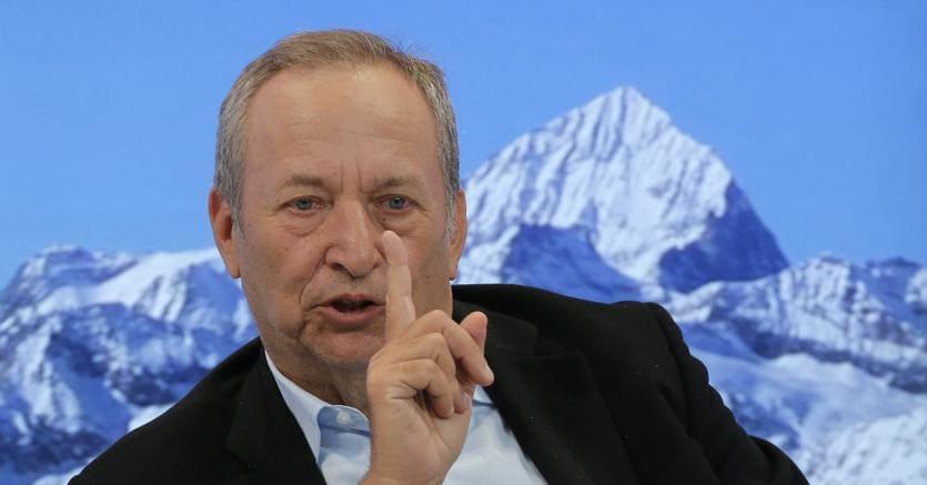 Larry Summers  a Davos (AP Photo/Michel Euler)