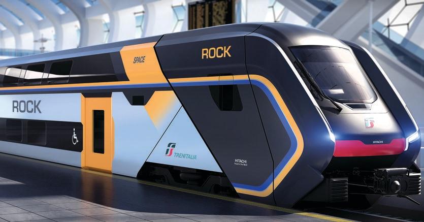 Trenitalia si chiamer rock il nuovo treno regionale a for Nuovi piani domestici americani
